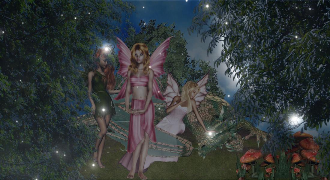 Fae Dragon by Tree-Troll-Girl