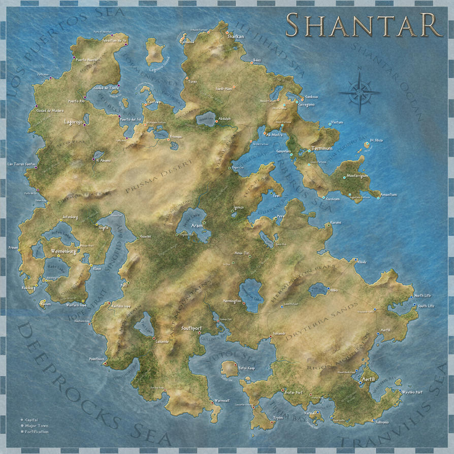 Shantar by felipecarbus