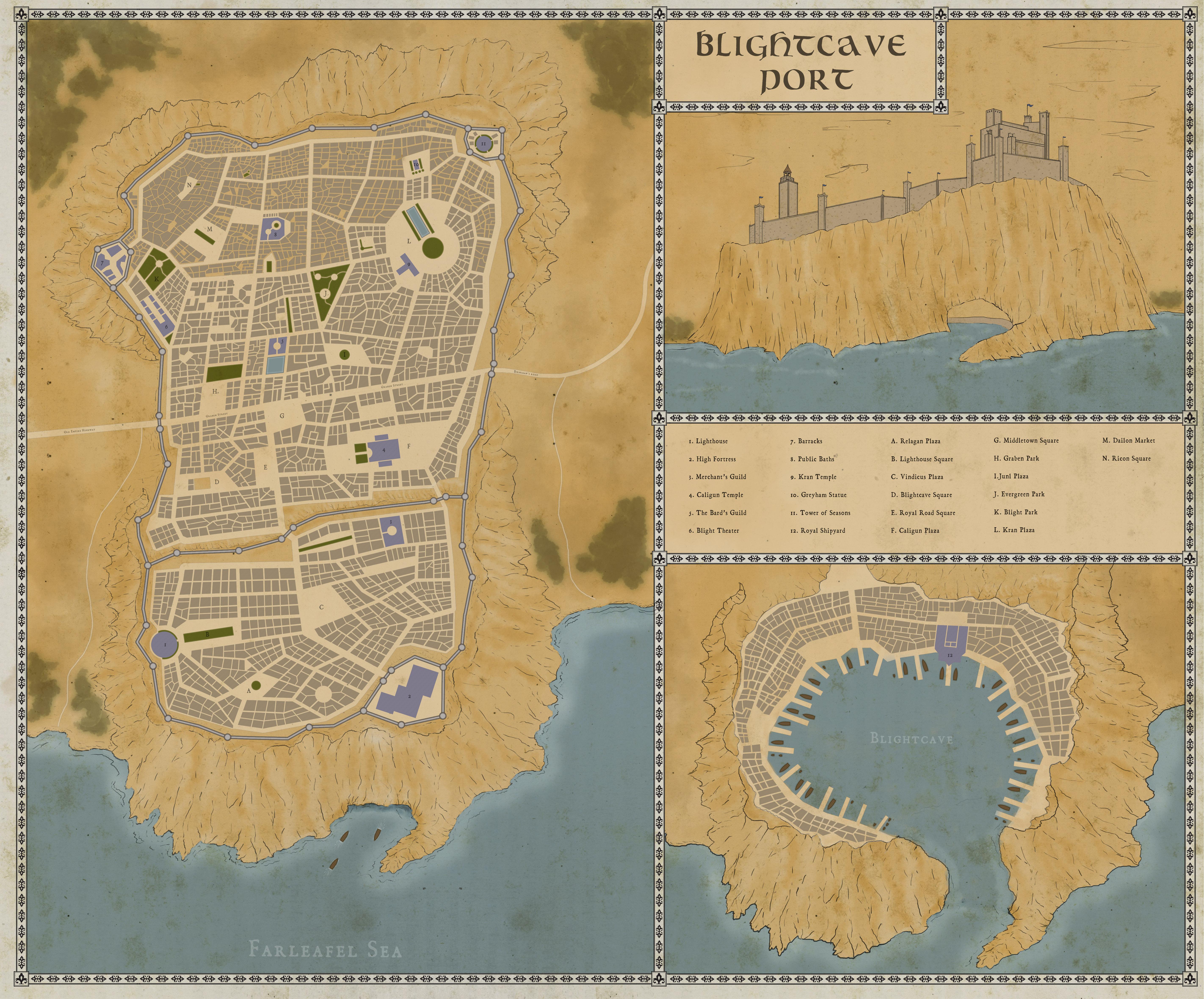 Blightcave Port by felipecarbus