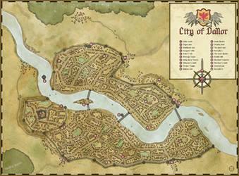 City of Dallor by felipecarbus