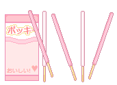 Pixel Pocky - FREE TO USE by PockyCrumbs