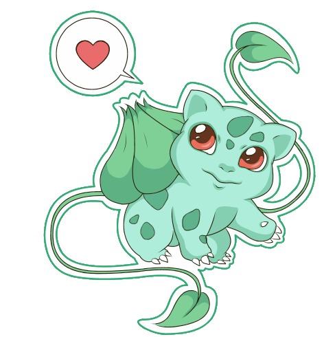 001 Bulbasaur Chibi by PockyCrumbs
