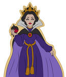 Evil Queen Snow White by PockyCrumbs