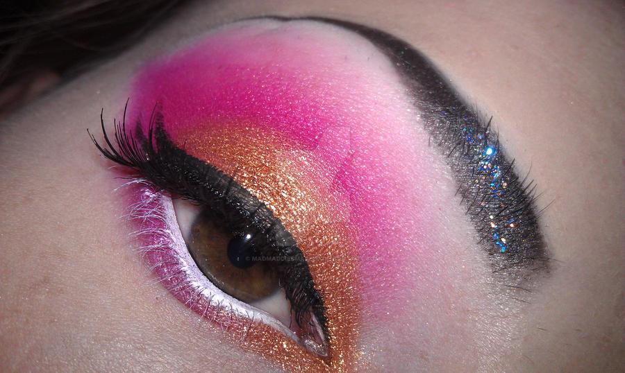 Bronzed Pink by madmaddiesmakeup