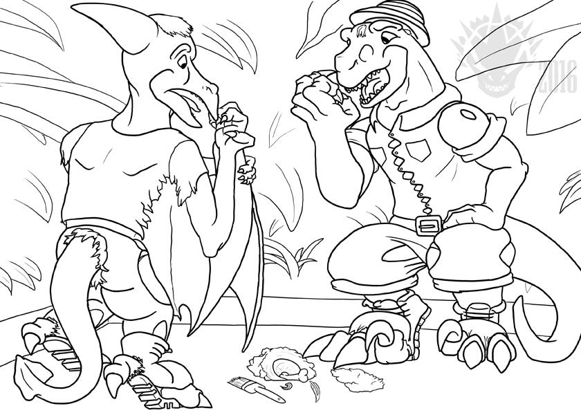 DinoCapsule by Metamorpher
