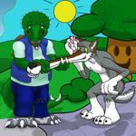 Cartooned Serling