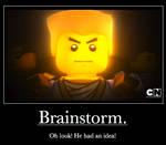 Brainstorm.