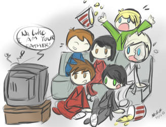NinjaGo Movie Night by neonjays