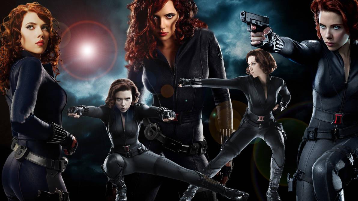 Black Widow Wallpaper by lordamrasnenharma ...