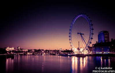 The London Eye 4 by Culain