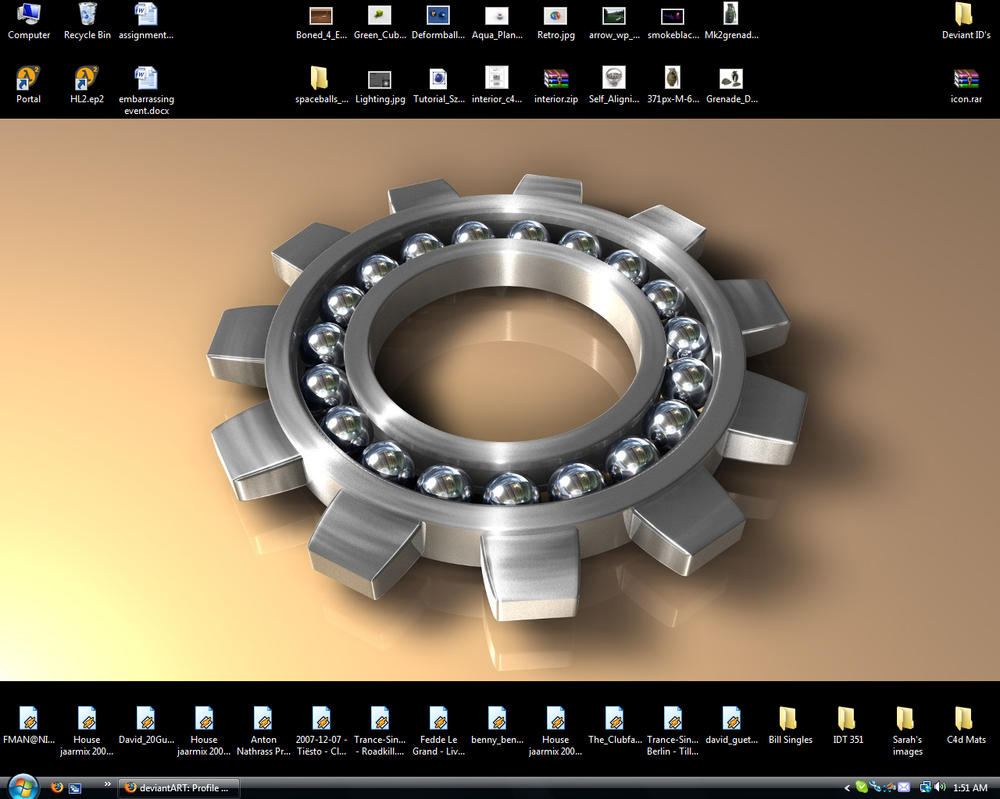 Desktop by R-Nader