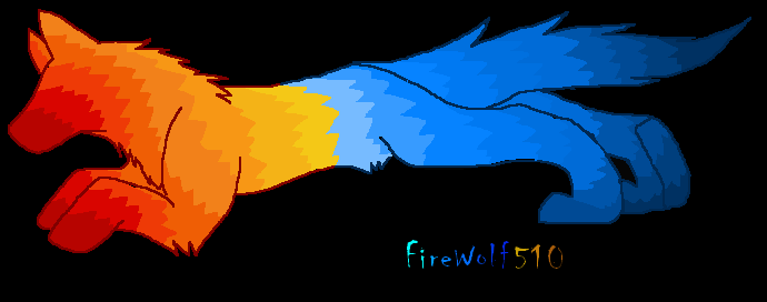 Fire And Ice Wolf In Love