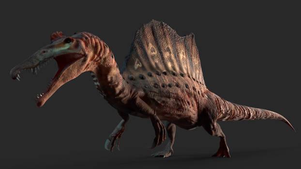 spinosaurus aegyptiacus 3D model