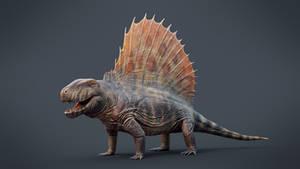 Dimetrodon grandis 3D Model Reconstruction