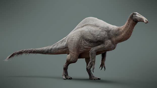 Deinocheirus mirificus 3D Model - Paleoart