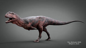 Majungasaurus crenatissimus 3D Model - Paleoart