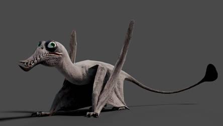 Cartoony Rhamphorhynchus
