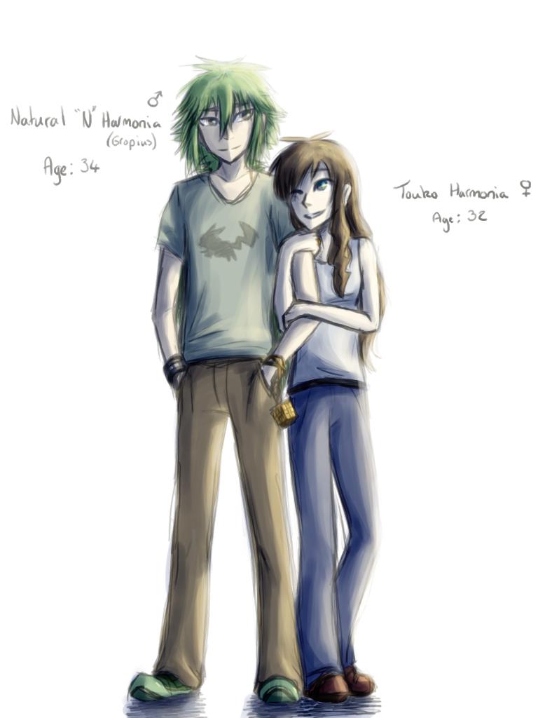 N and touko wedding - Burning Thunder N And Touko By Thedogzlife