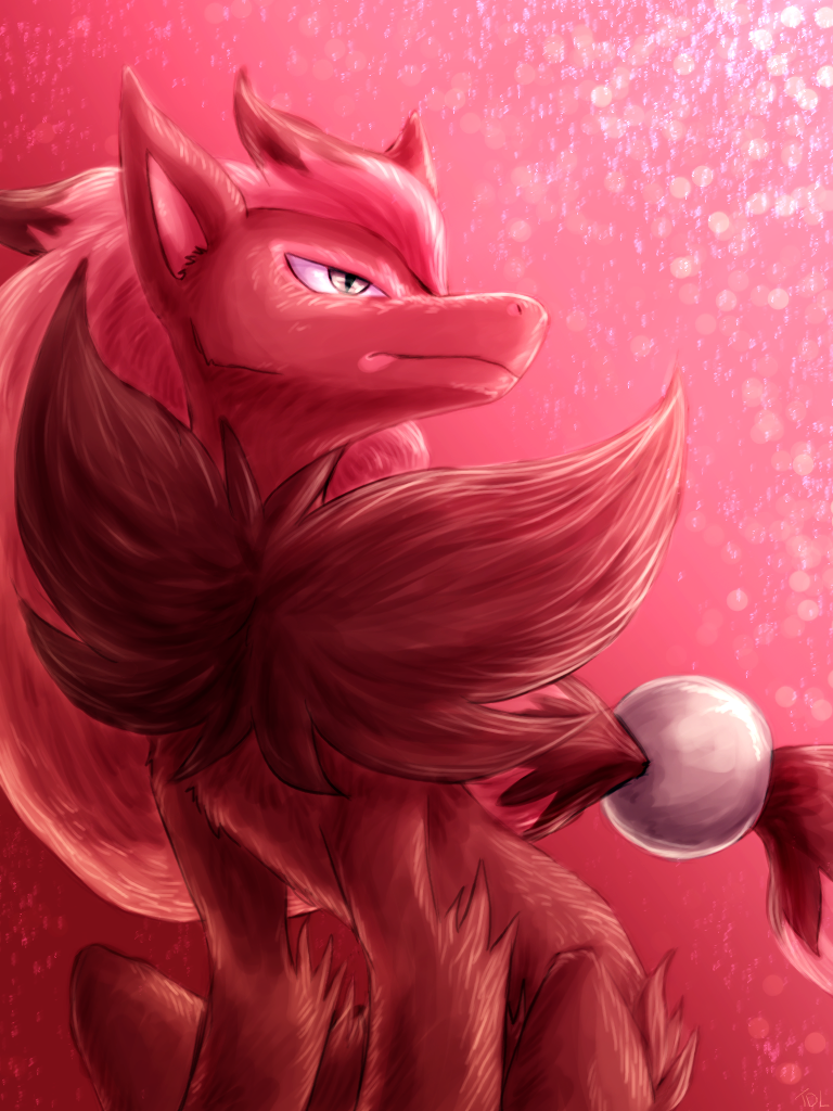 Deceitful Fox by TheDogzLife