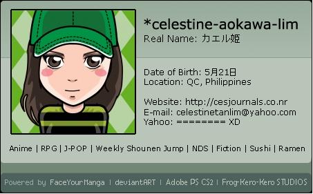 + : Face Your Manga ID DX : + by celestine-aokawa-lim