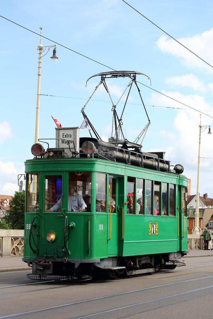 Oldtimer-Tram 190-1 by swissnature