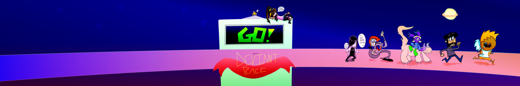 Usahi's Deviant Race Collab by Usahi