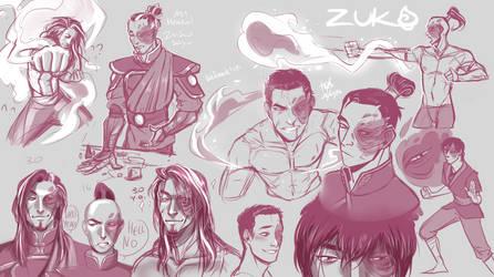 zuko sketches