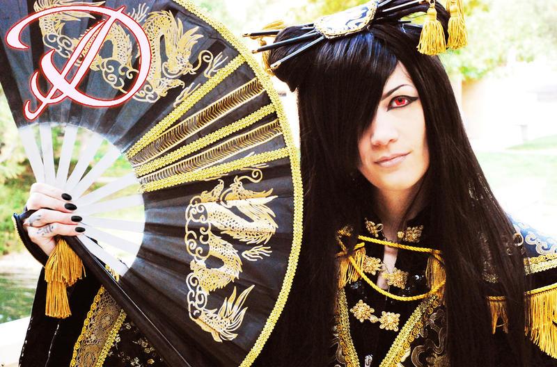Huang Di Asagi cosplay by FilthyWarumono