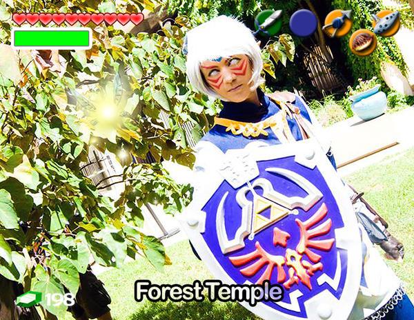 Fierce Deity Link Cosplay by FilthyWarumono