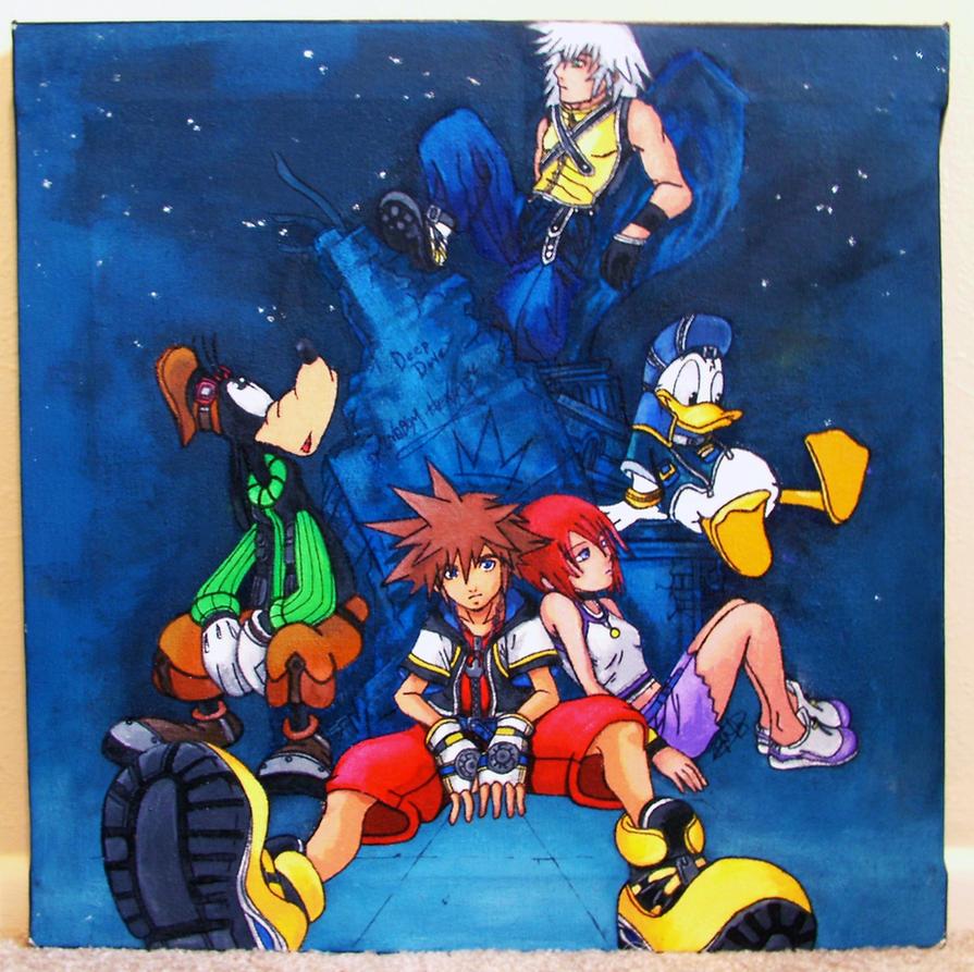 Kingdom Hearts by FilthyWarumono