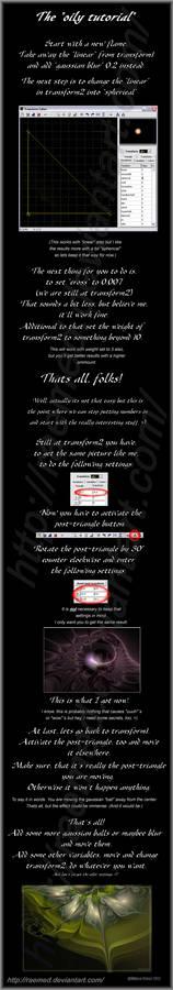 Apophysis 'oily tutorial'