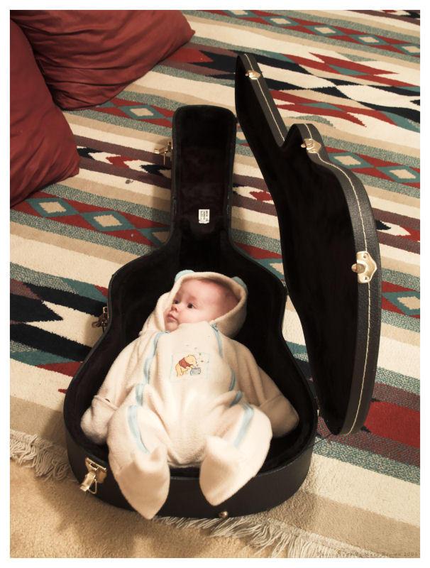 Guitar Baby by Kvaga