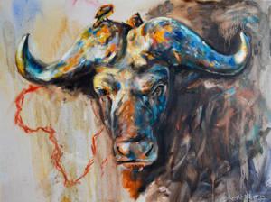 Buffalo, no soldier. by RichardPratt