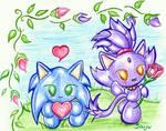 Sonic, Blaze: Chao Valentines