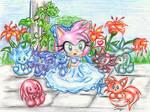 Chibi Amy Rose: Plushies