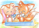 Cream, Tails : Chao