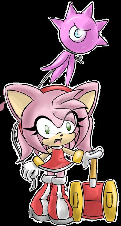 -Sonic Colours- Chibi Amy Rose :3 by Sayuri-Amaya