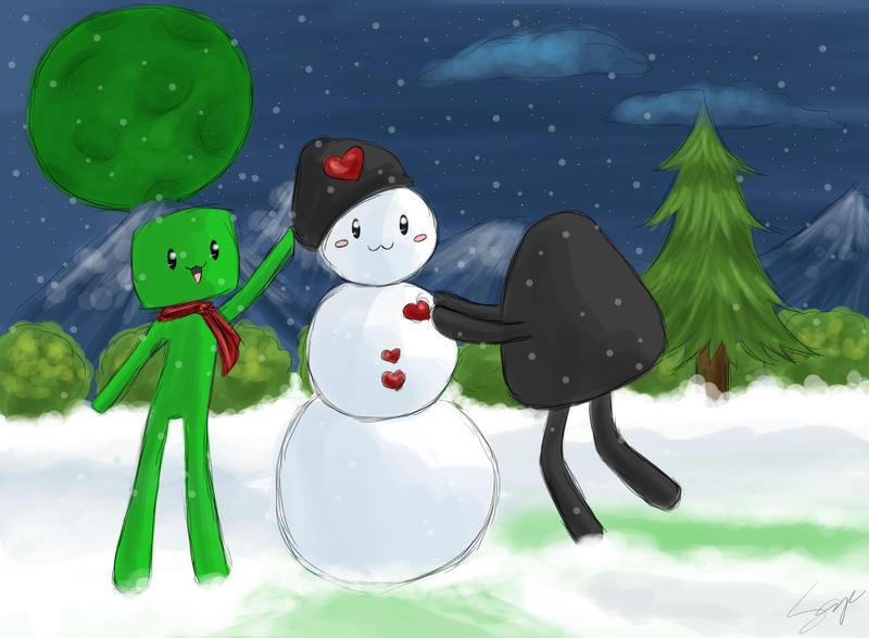 Good monster, friendly monster by Sayuri-Amaya