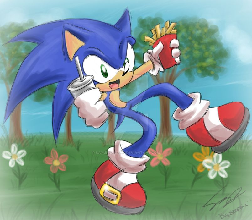 Sonic bigsteppin- Spring by Sayuri-Amaya