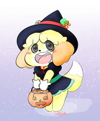 Isabelle the lil witch