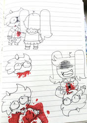 Kill Sketches by ColoredButterfly