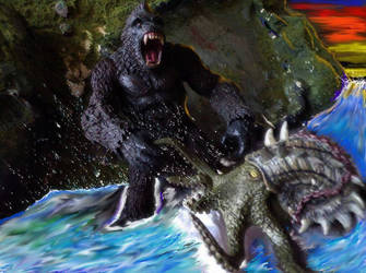Kong vs Octopus 1