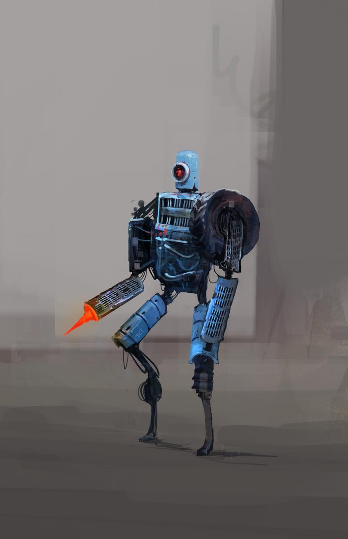 car junk robot by NotisKate