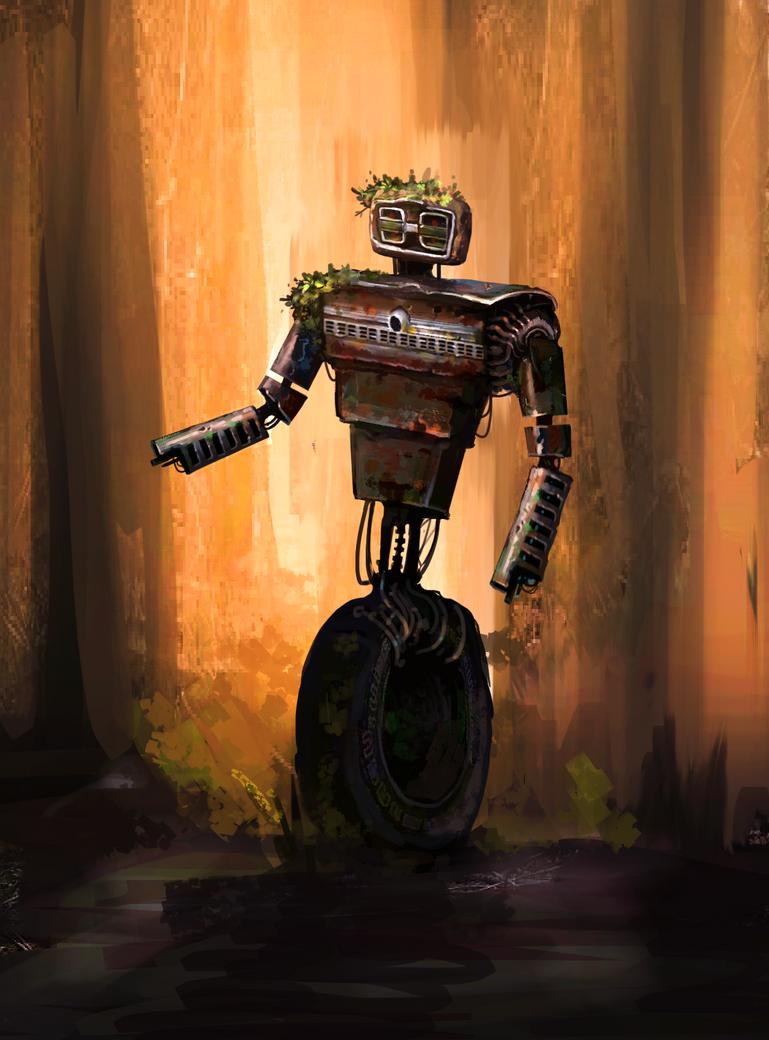 car junk robot 2 by NotisKate
