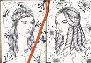 Two Flowers of Karma
