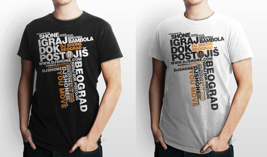 T Shirt Design For Dj Shone By Markizdesign On Deviantart