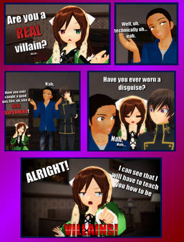 We Are Number 1 but it's an MMD Comic