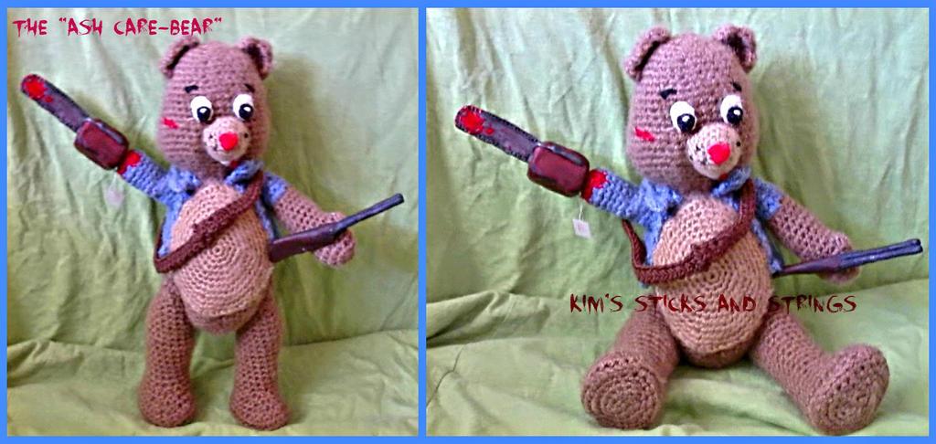 Ash Care Bear by kreepykim