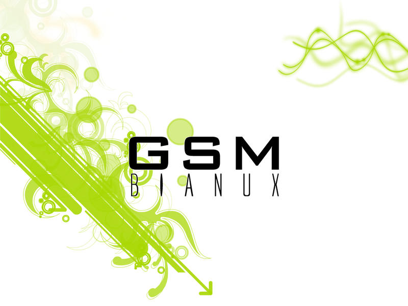 GSM Bianux With Wallpaper by Rmin
