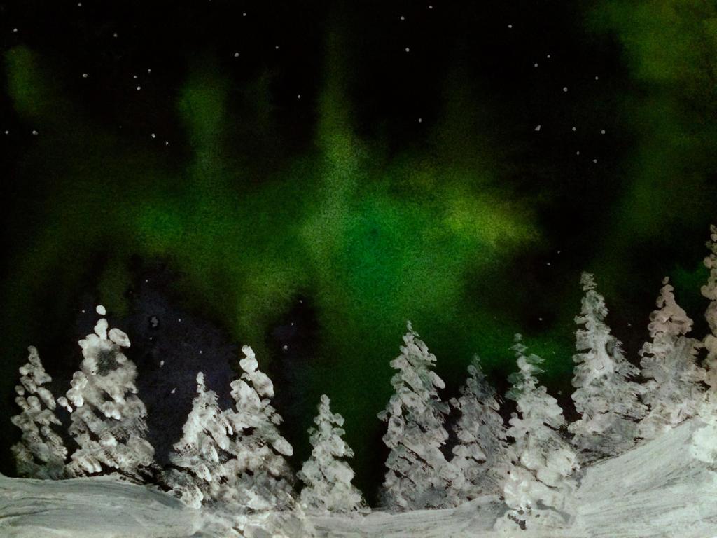 Aurora Borealis by judiii